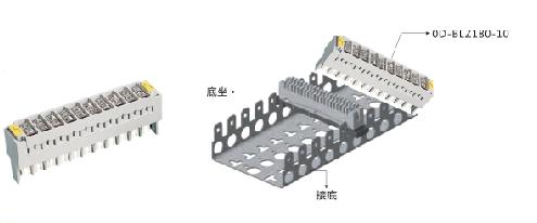 (订购电话 15002056256)  产品描述 : OrdEN OD-BLZ180-10通信线路防雷器主要用于程控电话交换机 LSA-PLUS 内外线,集团电话等设备提供线/线间及线/地间的浪涌过电压保护,安装于防雷区LPZ1-3界面上的KRONE科龙架上,有专用的标准插排,内含10路串联接法的通信线路保护,具有双重的过压过流保护功能,产品有单路及10路保护 应用领域: 程控交换机,集团电话的线路保护 产品特点: 产品采用进口半导体箝位器件,质量稳定,具有多级保护。 优良的抗过压特性,可为通讯设备提供